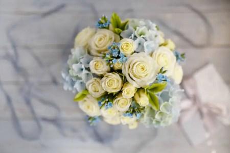 blue and white wedding flower centerpieces » Best Wild Flowers ...