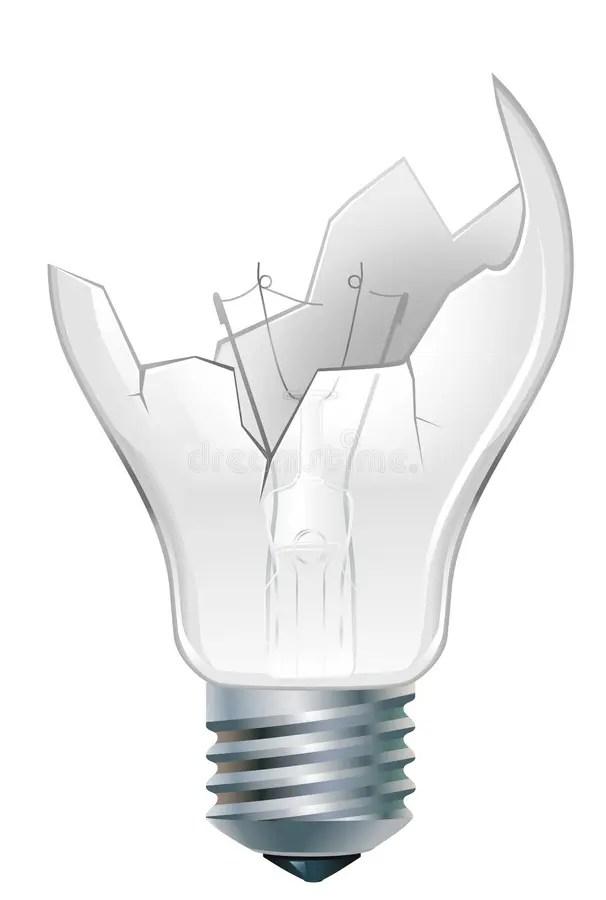 Old Incandescent Light Bulb
