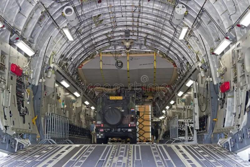 C 17 Interior Editorial Photo Image Of Front Thrust