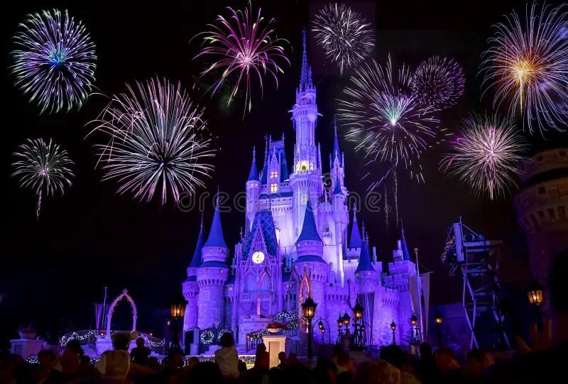 Fireworks At Disney World Wallpaper