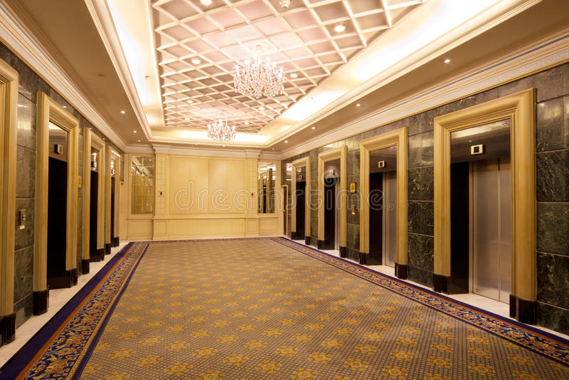 Elevator Lobby Stock Image Image Of Doors Downtown