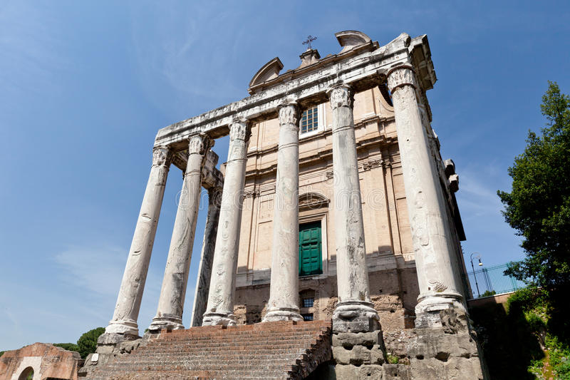 Forum Romanum stock photo. Image of history, buildings ...