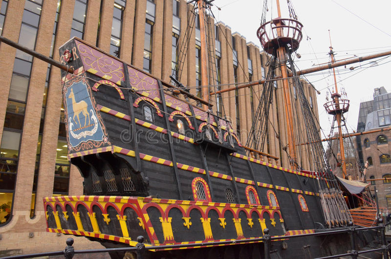 The Golden Hinde Ii Stock Image Image Of Circumnavigate