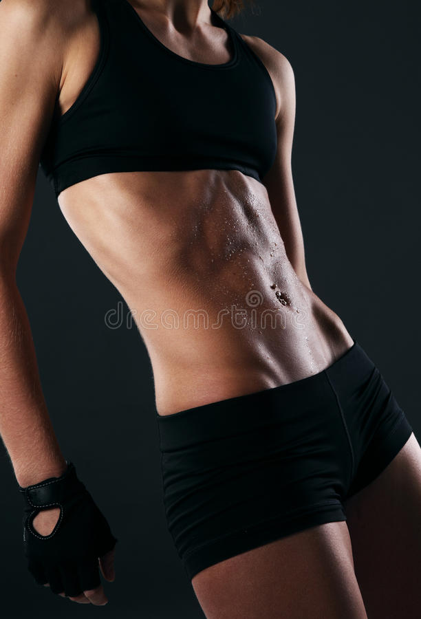 Image Of Fitness Body Sweating Stock Image - Image: 34710401