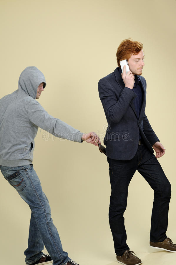 Man Stealing Wallet Stock Image Image Of Teens Object
