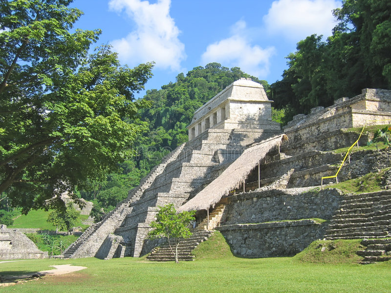 Pyramid Temples South American