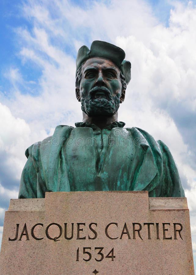 Statue of Jacques Cartier stock photo  Image of bridge   10006320 Download Statue of Jacques Cartier stock photo  Image of bridge   10006320