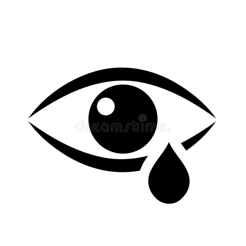 Black And White Tears Eyes