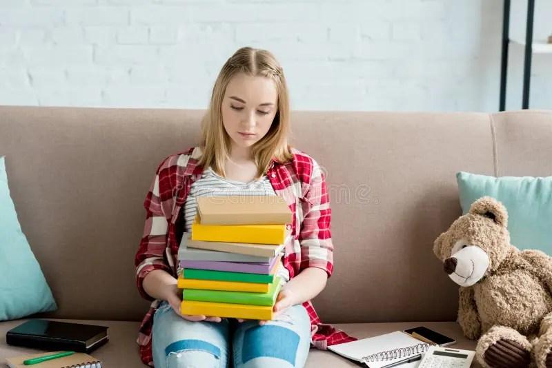Desk Stack Textbooks