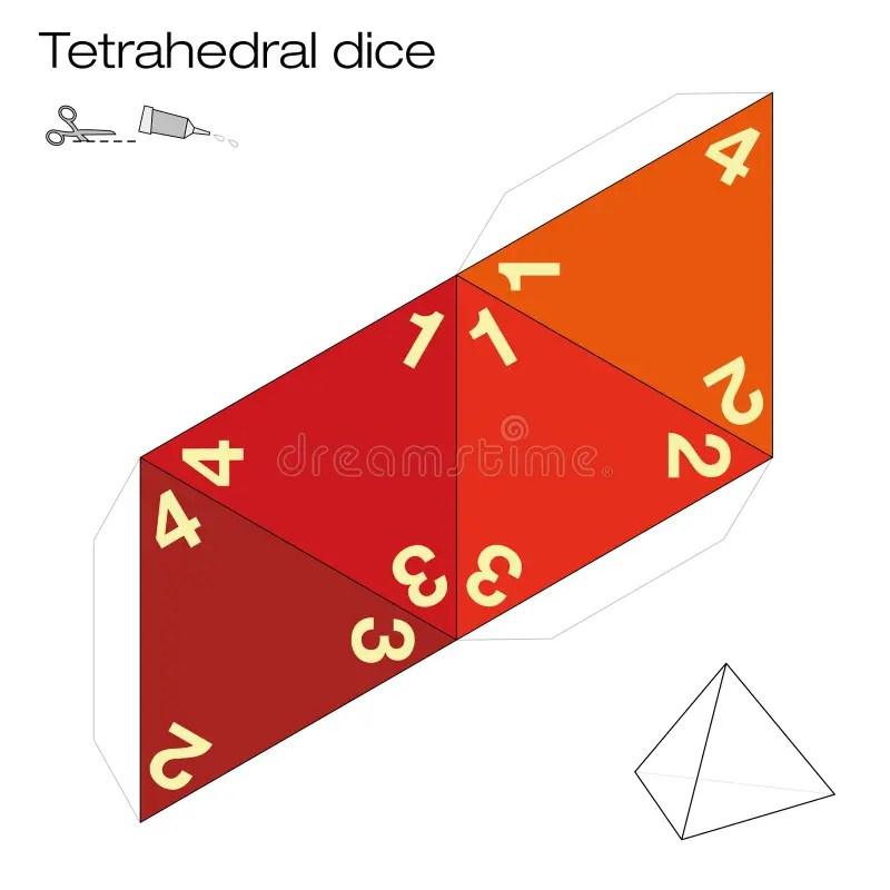 Platonic Solids Paper Template