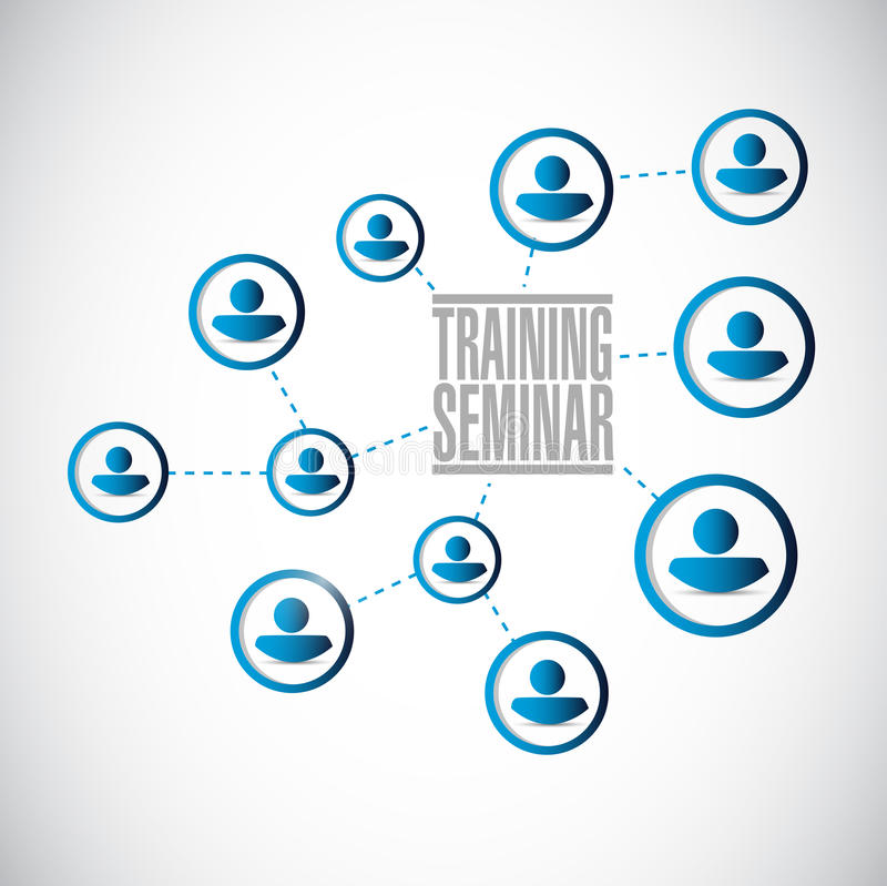 Training Seminar Memo Post Illustration Design Stock ...