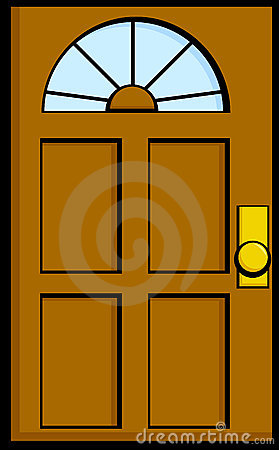 Door Vector Illustration Stock Image Image 15870961