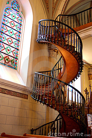 Loretto Chapel Staircase Royalty Free Stock Images Image