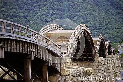 Old Japanese Bridge Stock Photography Image 9244762