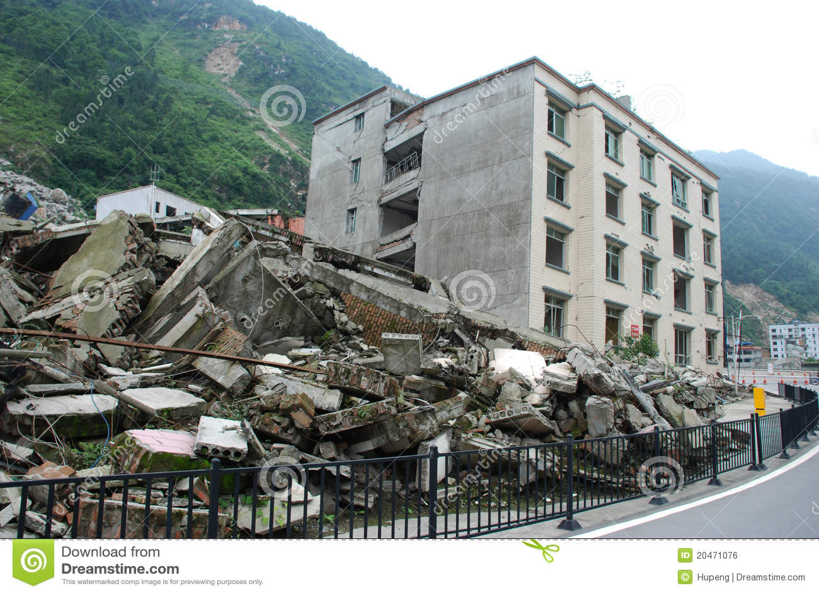 2008 512 Wenchuan Earthquake Editorial Photo Image 20471076