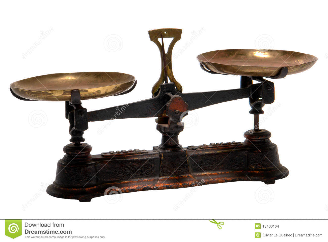 Old Vintage Scales Weight