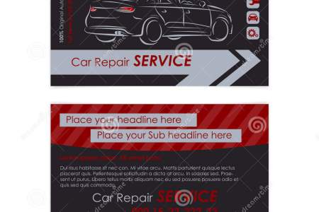 Auto Repair Business Card Template  Create Your Own Business Cards     Auto repair business card template  Create your own business cards