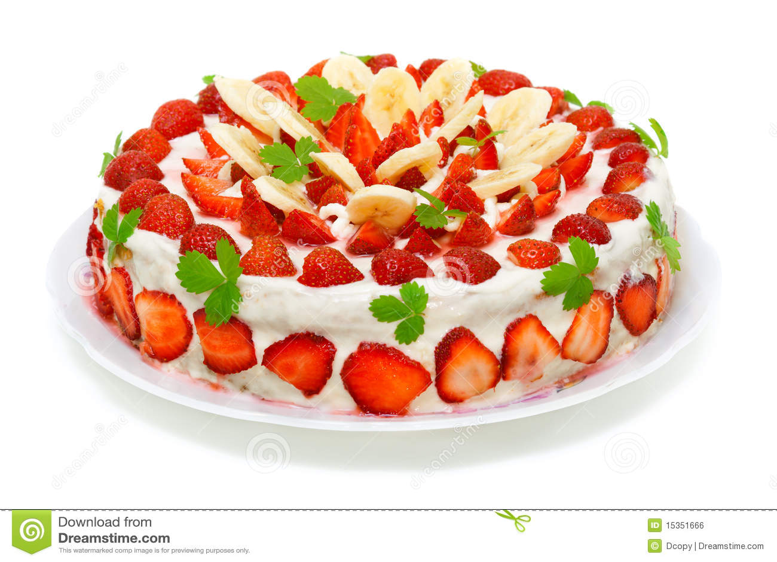 Banana Birthday Cake
