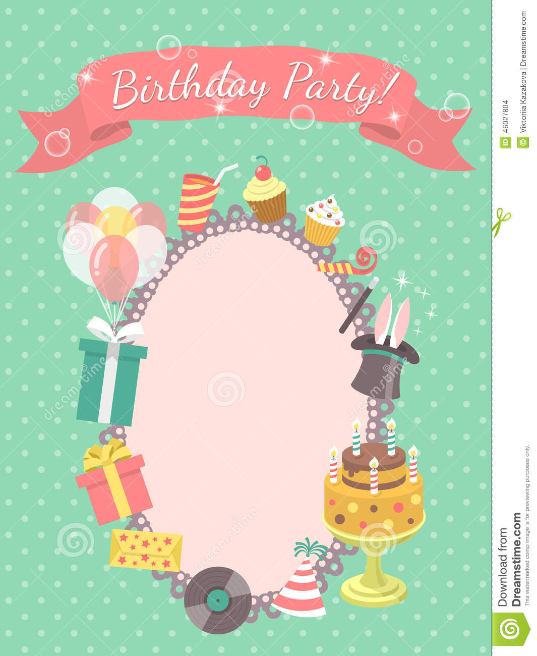 Birthday Party Greetings