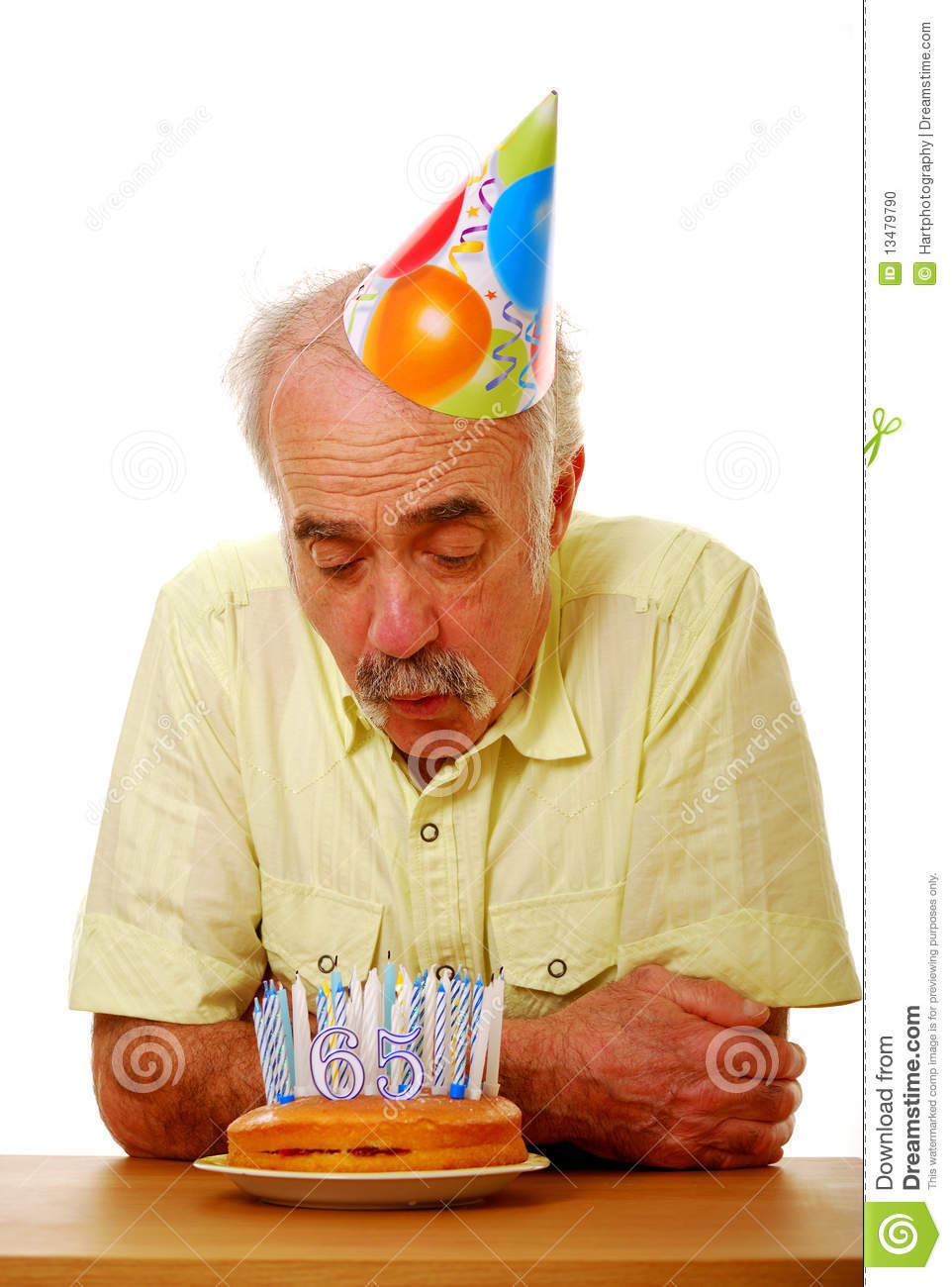 Blowing Out Candles Stock Photo Image 13479790