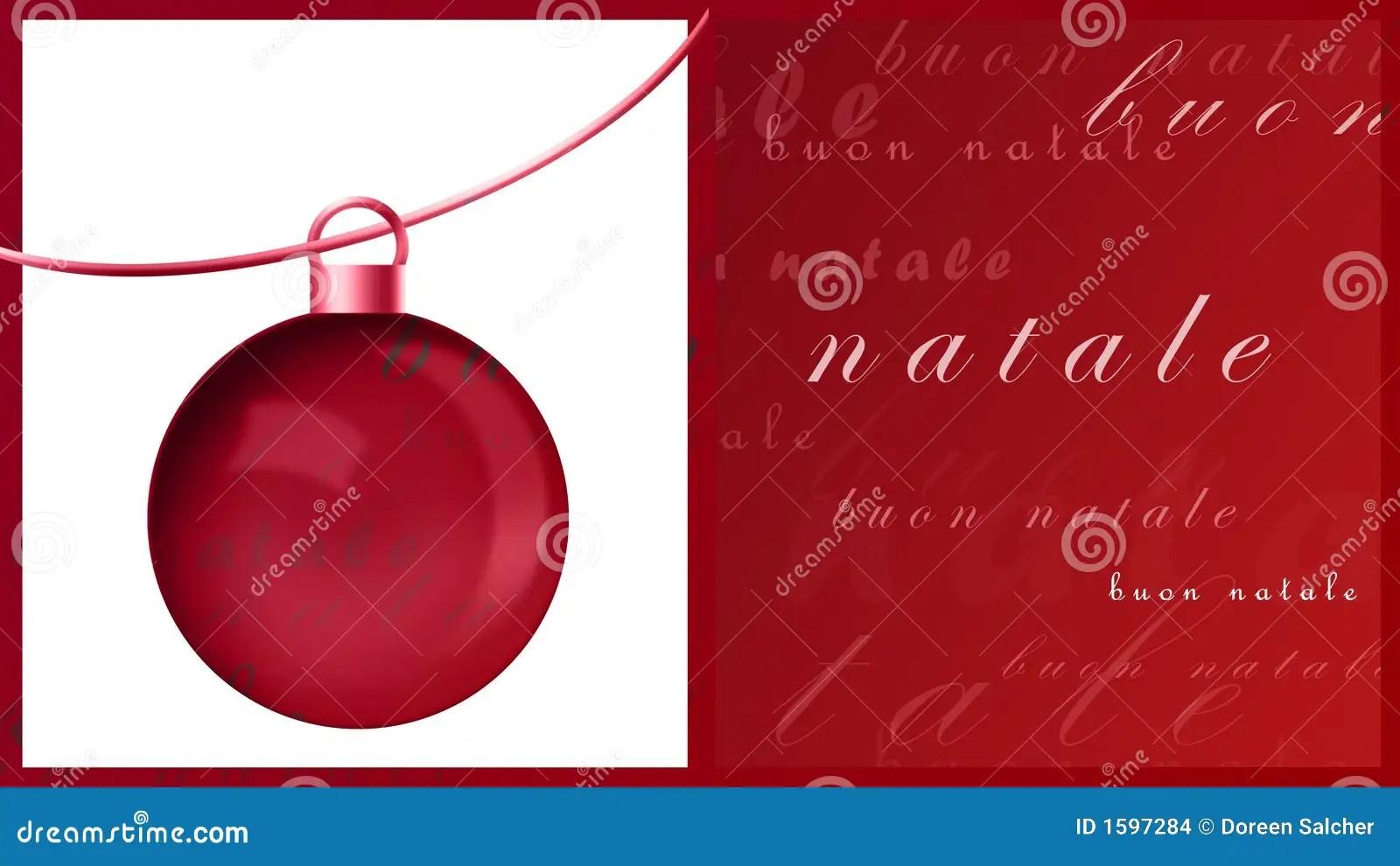 Merry Christmas Italian
