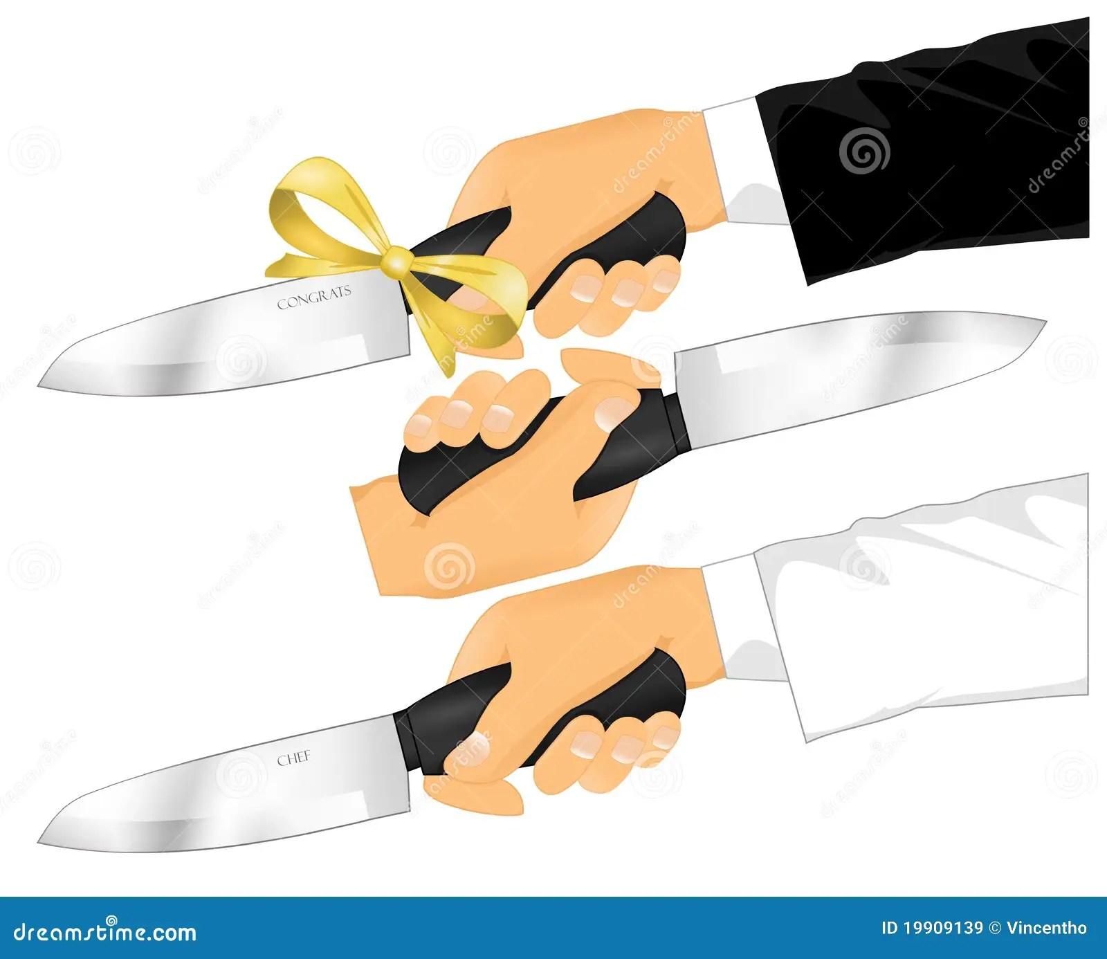 Kitchen Knife Holding Pose