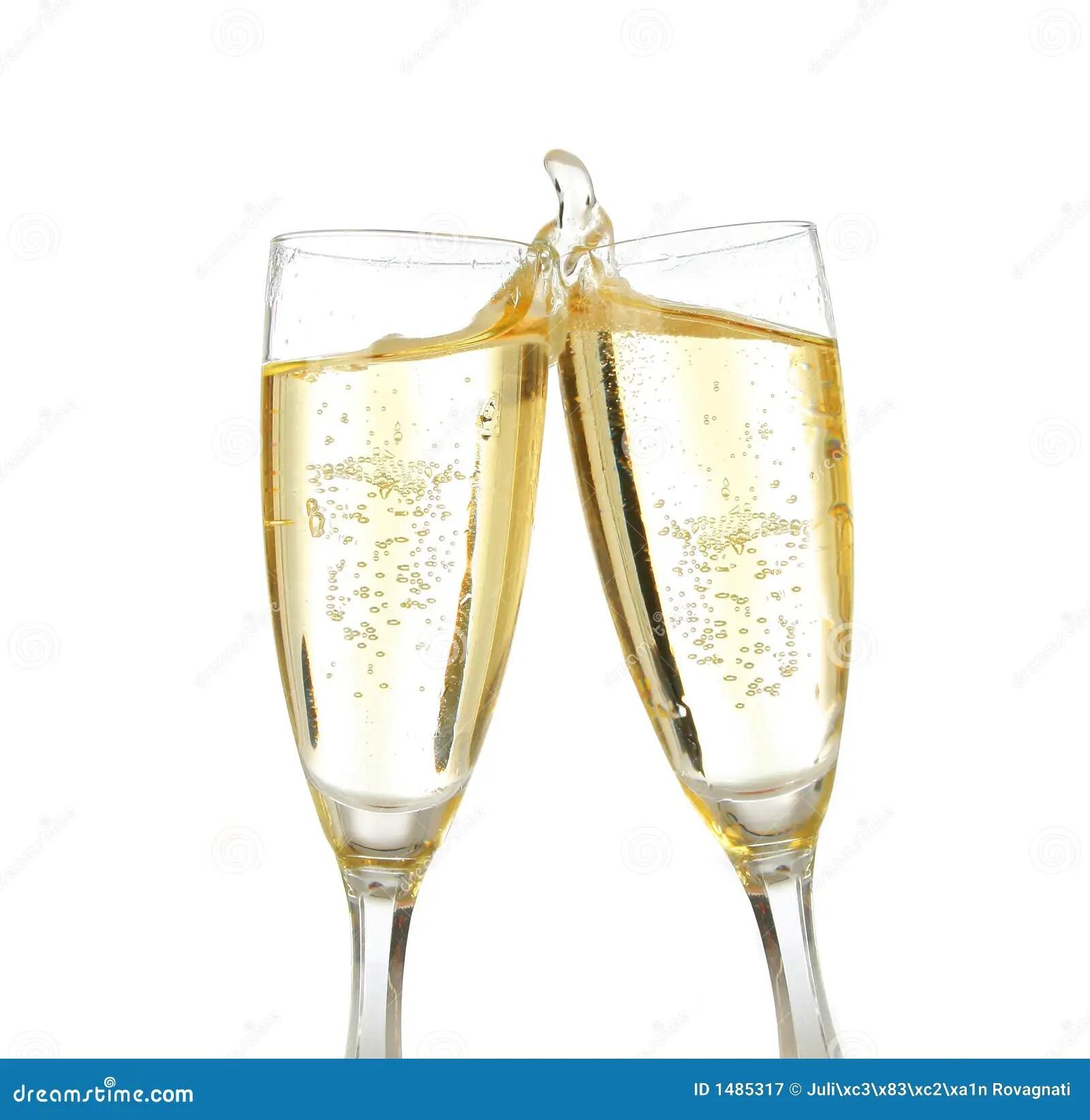 Happy New Year Wine Toast