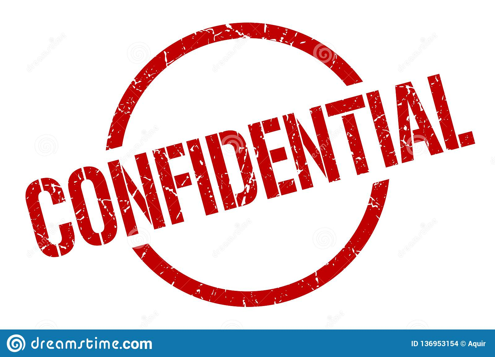 Confidential stamp stock vector. Illustration of ...