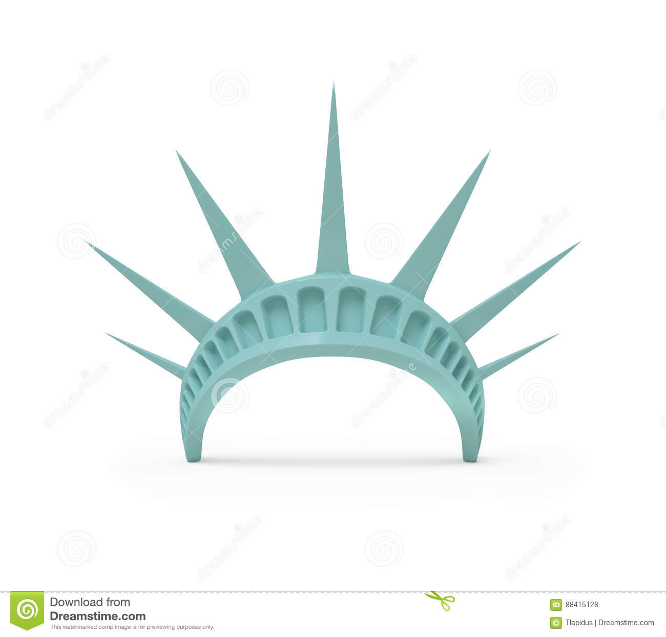 Statue Liberty Torch Clip Art