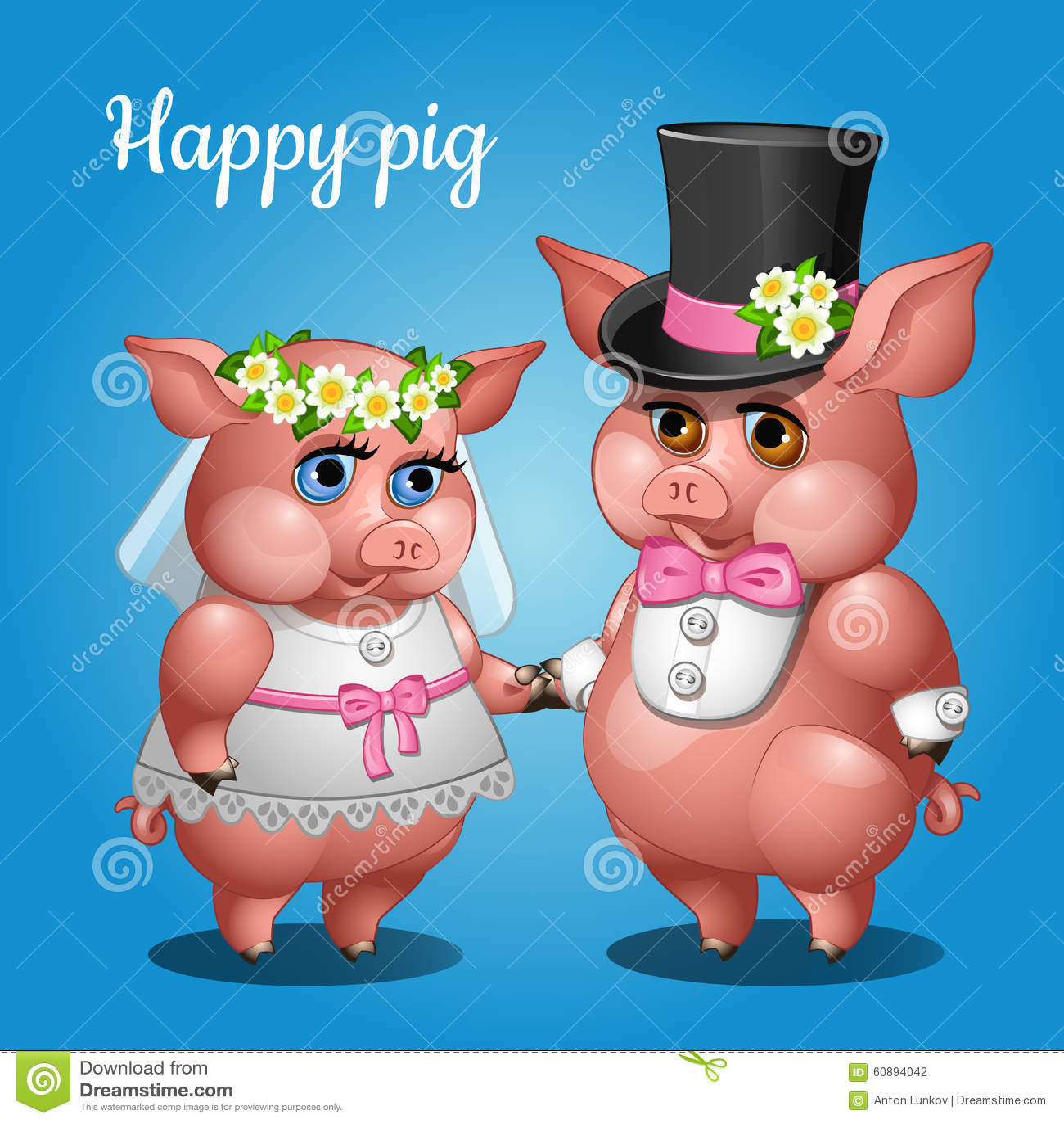Bride Clip Art Groom And Pig