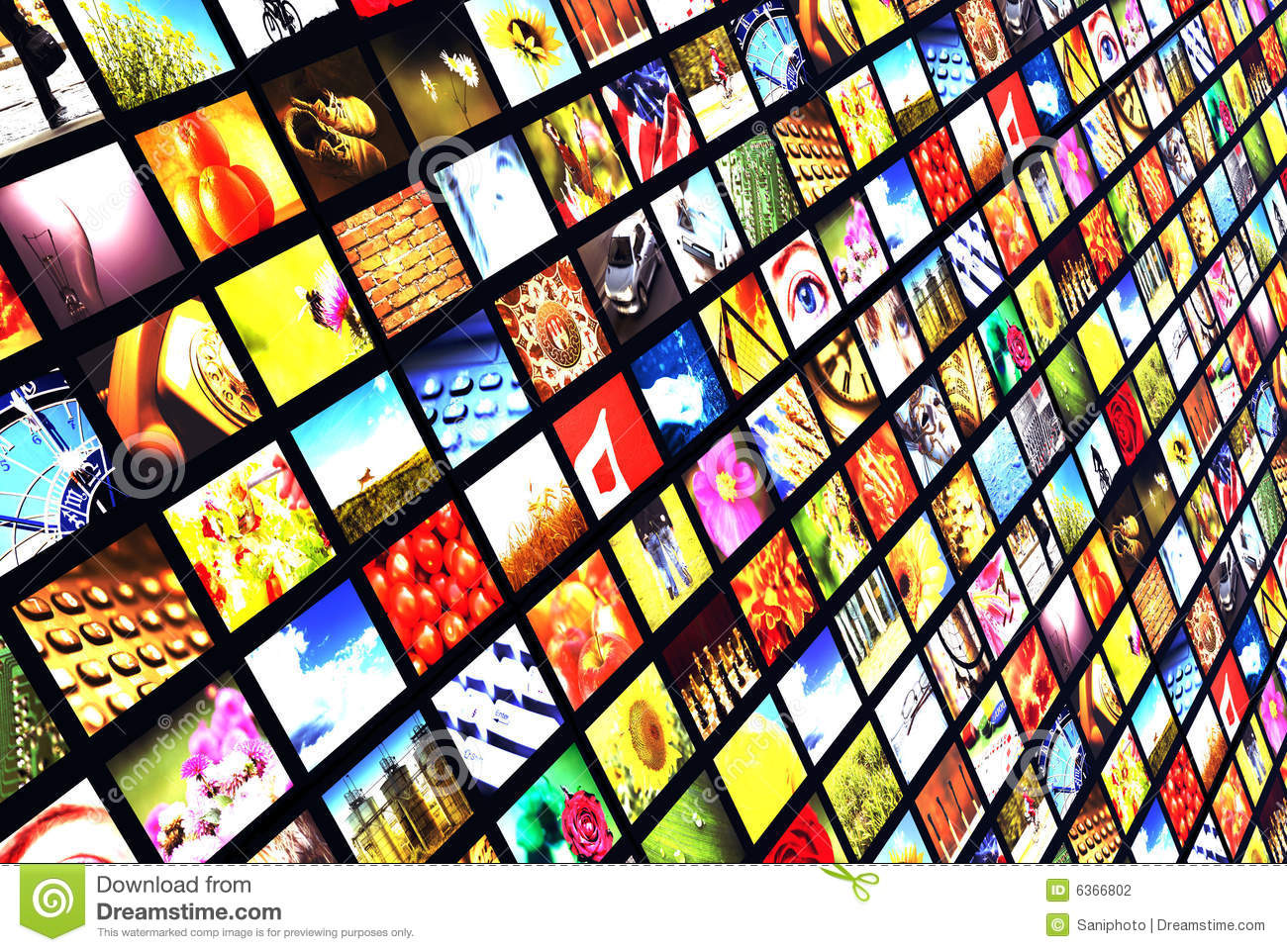 Digital Television Stock Photo Image Of Background