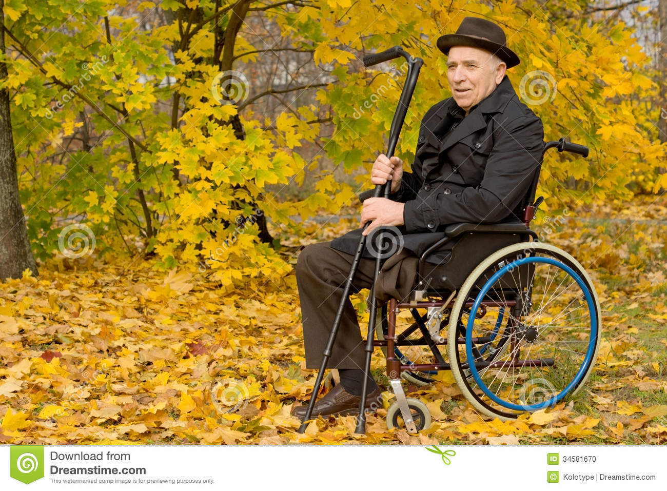 Male Wheelchair Amputee