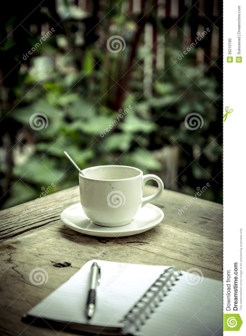 Drinking Coffee In The Relax Corner Stock Image Image Of