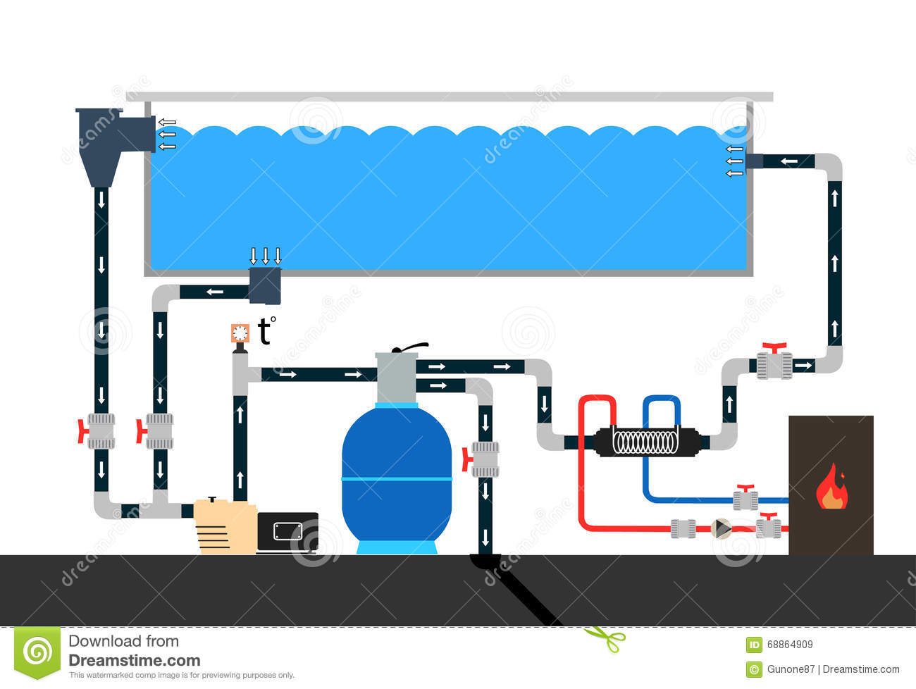 Swimming Pool Schematic