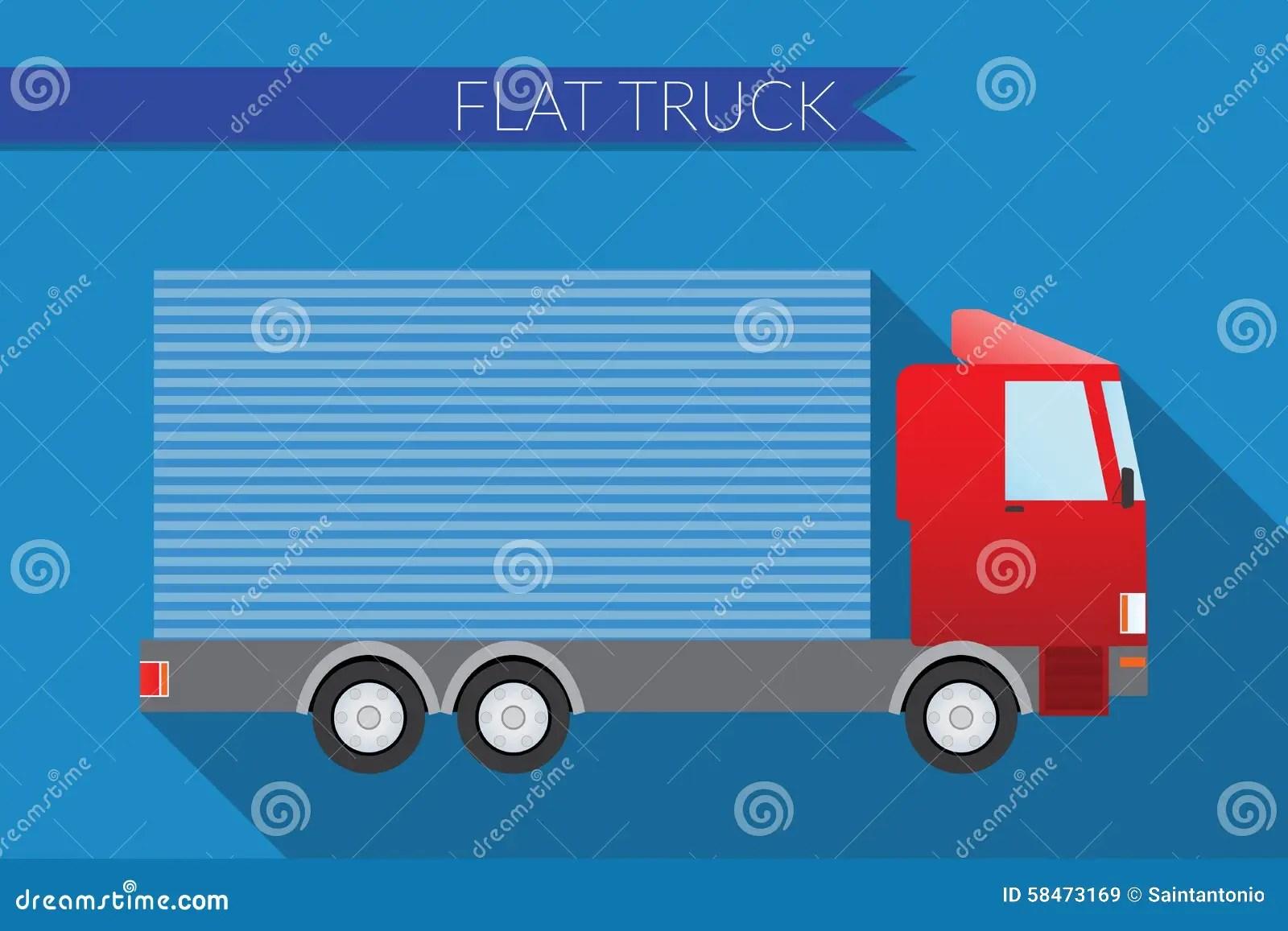 View Mirror Art Side Truck Clip