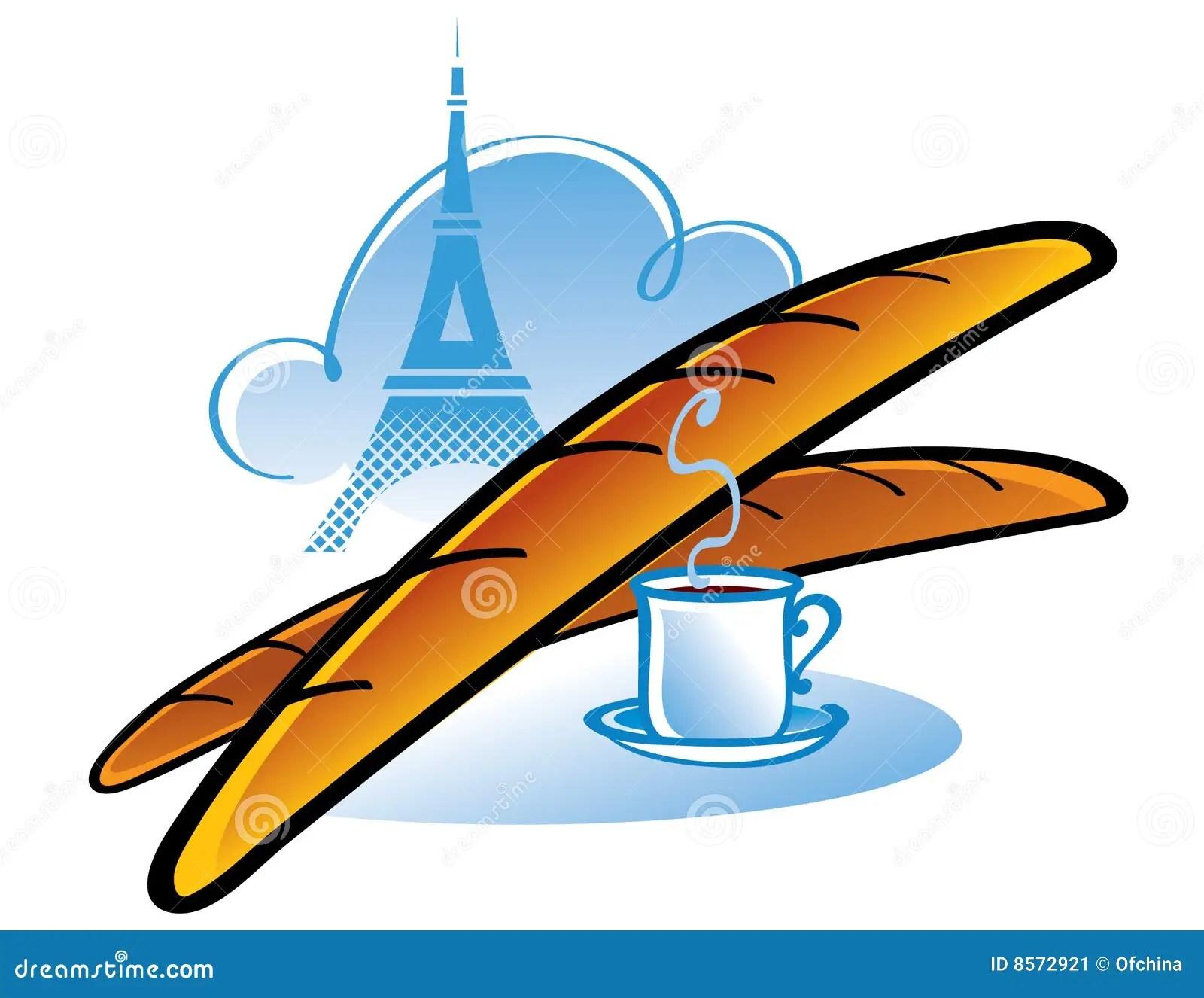 French Bread Baguette Clip Art