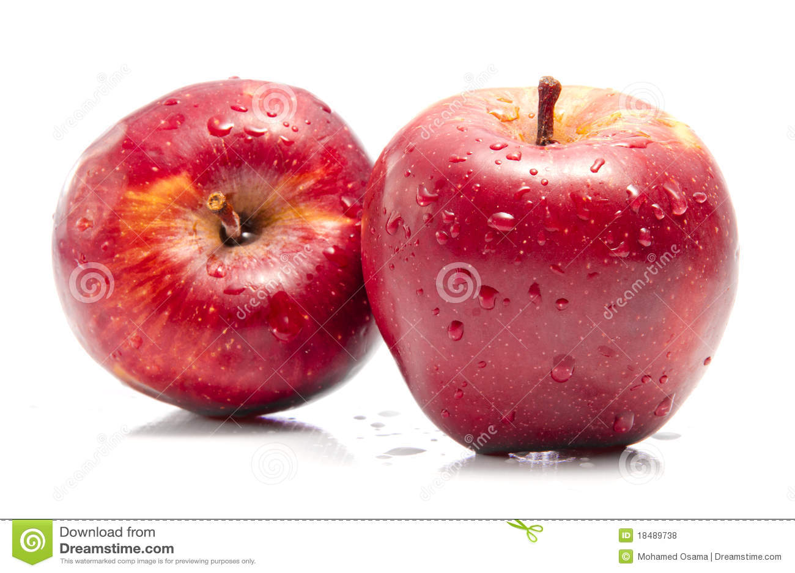 Fresh Apples Stock Photo Image Of Juicy Lifestyle Half