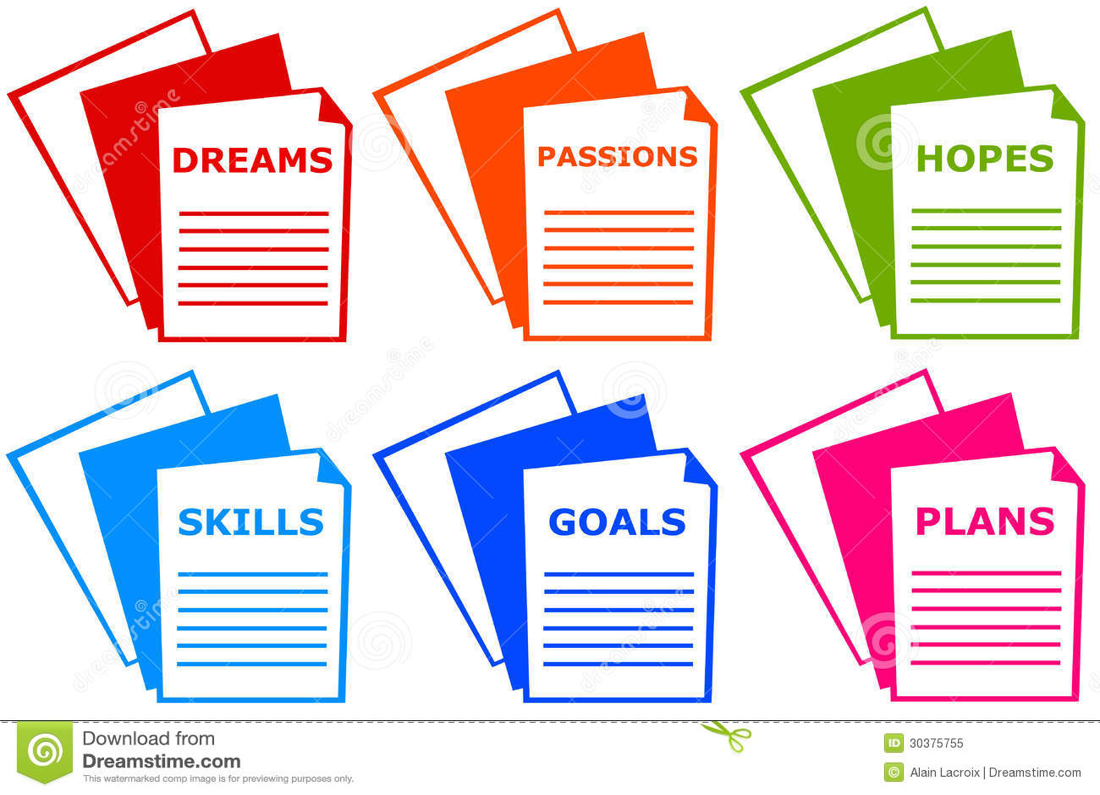 Goals Personal Improvement Self