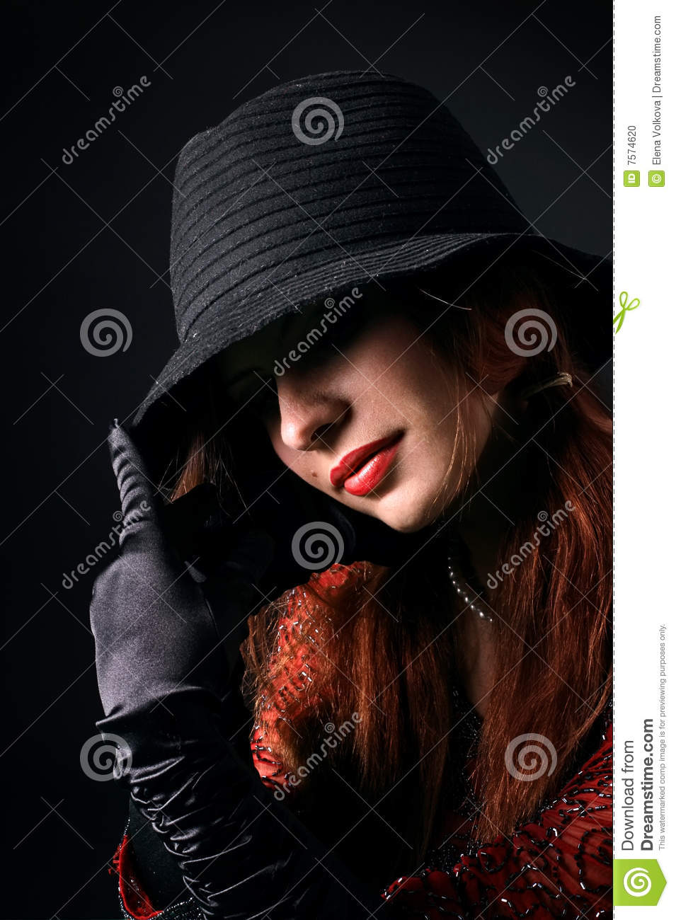 Gangsta Girl Stock Photo Image Of Points Girl Style