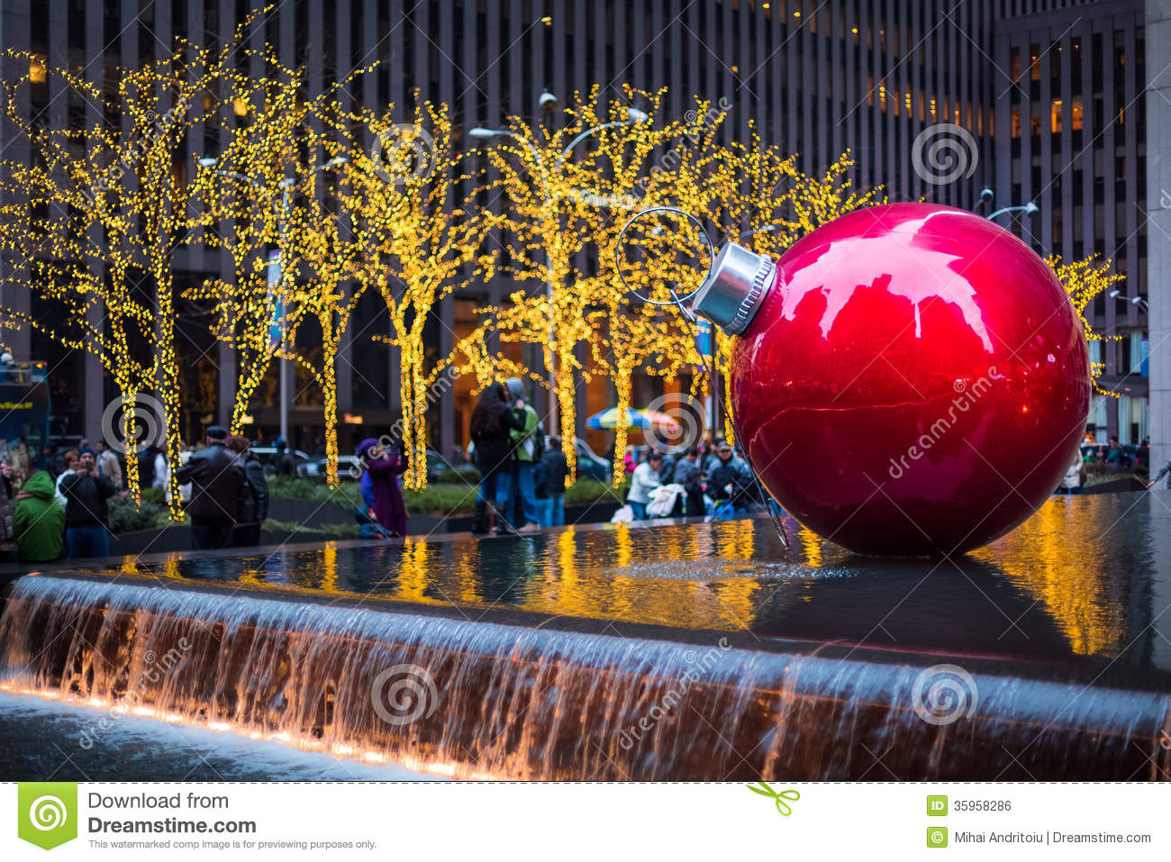 Christmas Lights Ball