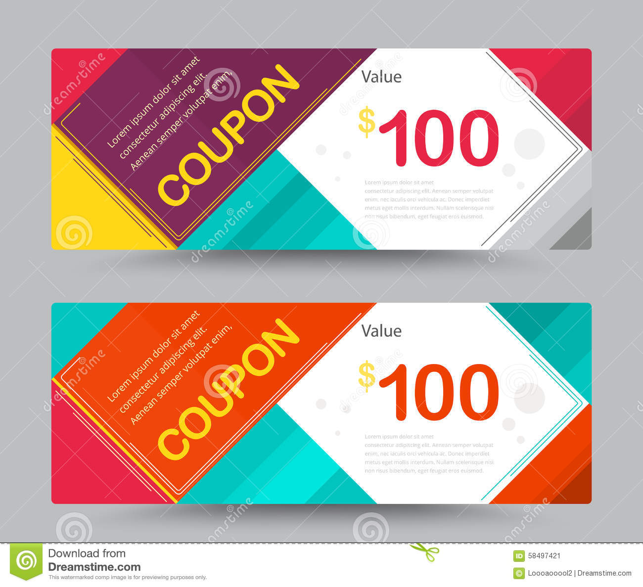 Coupon Flyer Template Free
