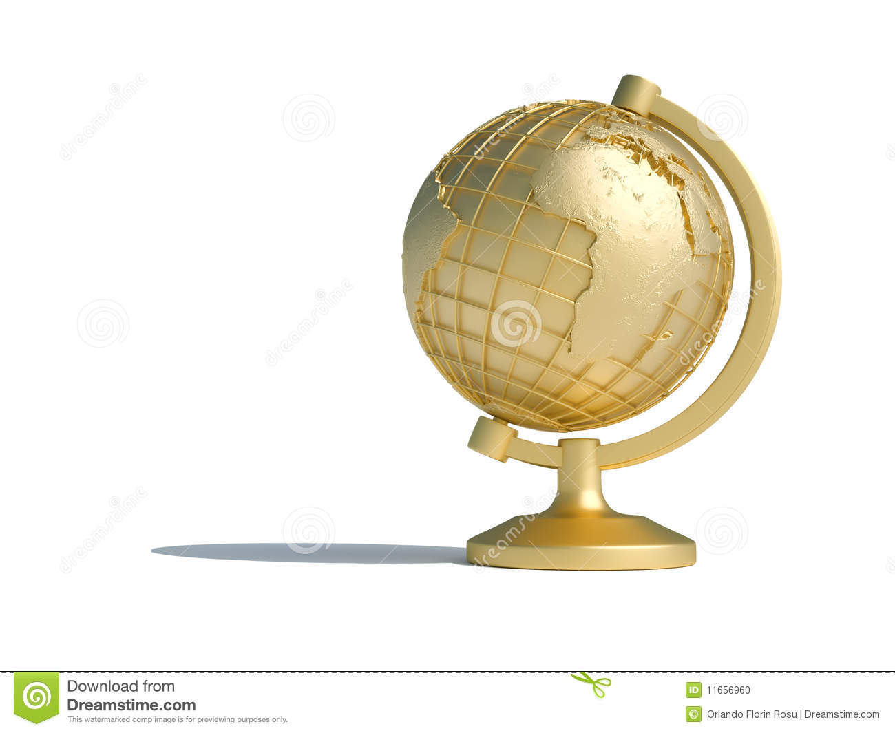 Globe Us And Earth Africa