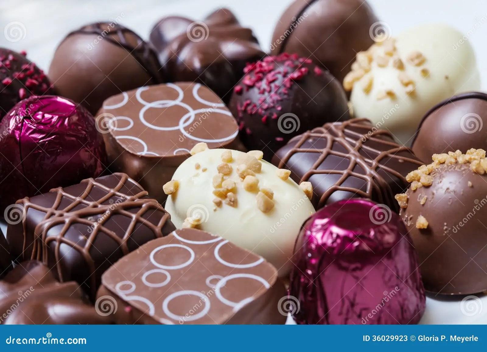 Gourmet Chocolates Stock Photos Image 36029923