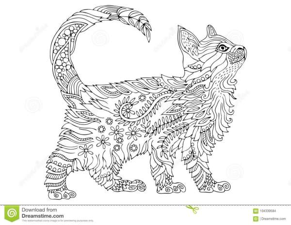 coloring pages kittens # 14