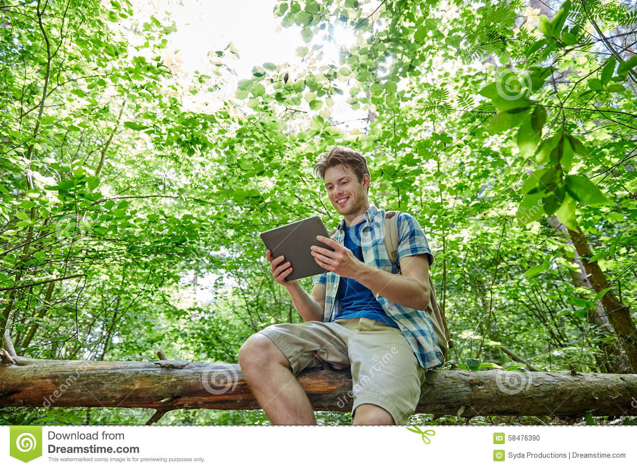 Traveling Woods Person