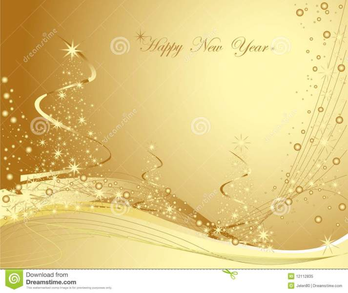 Happy New Year background stock vector  Illustration of background     Happy New Year background