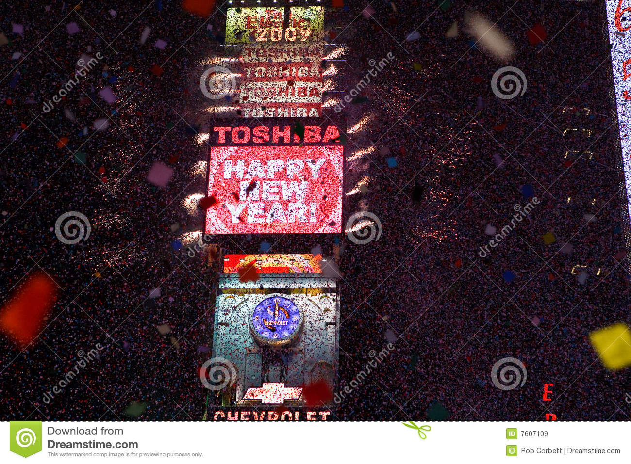 Happy New Year Times Square Editorial Stock Image   Image of     Download Happy New Year Times Square Editorial Stock Image   Image of  manhattan  square