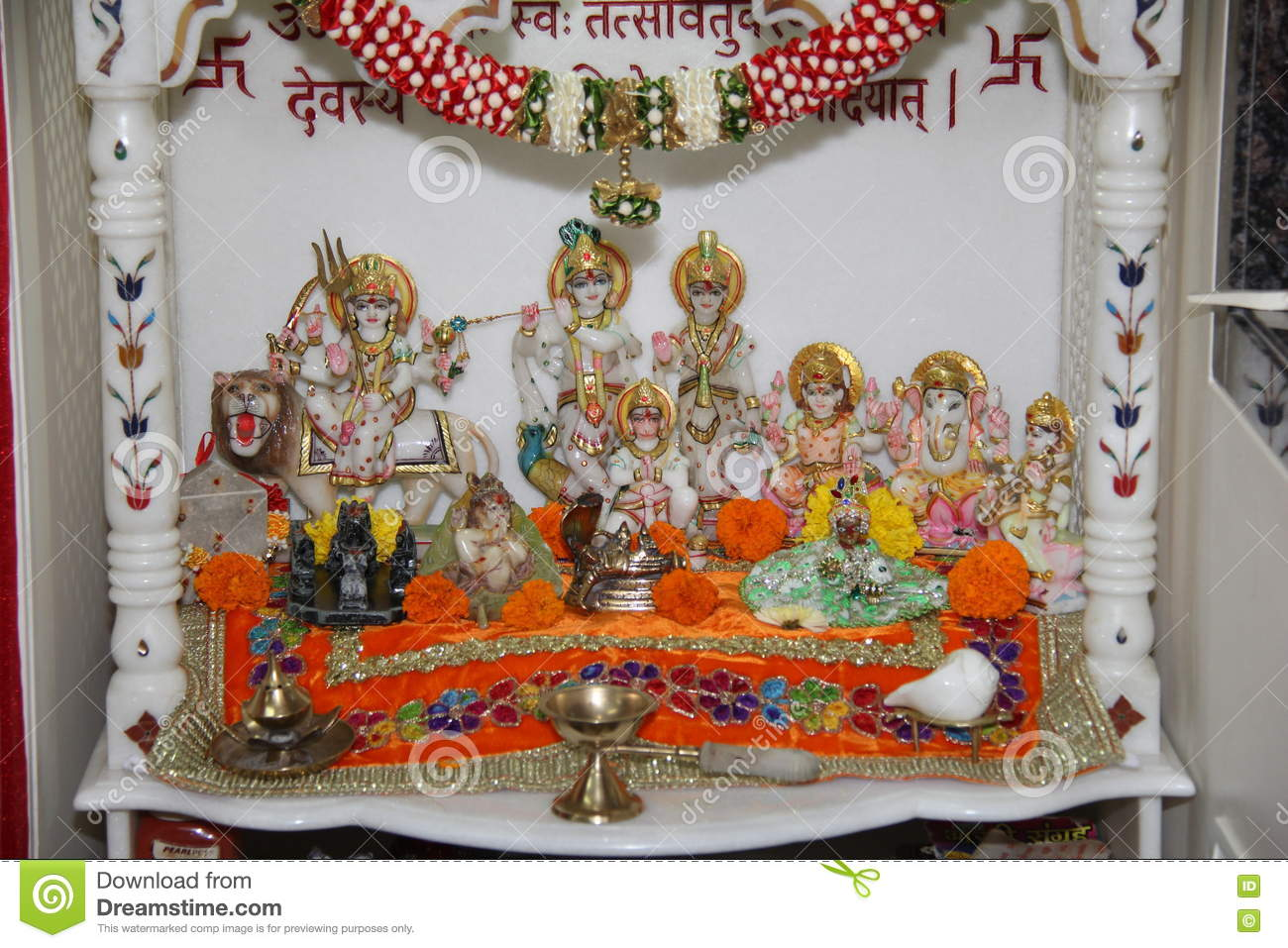 Best Kitchen Gallery: Hindu Temple Stock Photo Image Of Bless Religion Idols 77127944 of Hindu Altar At Home on rachelxblog.com