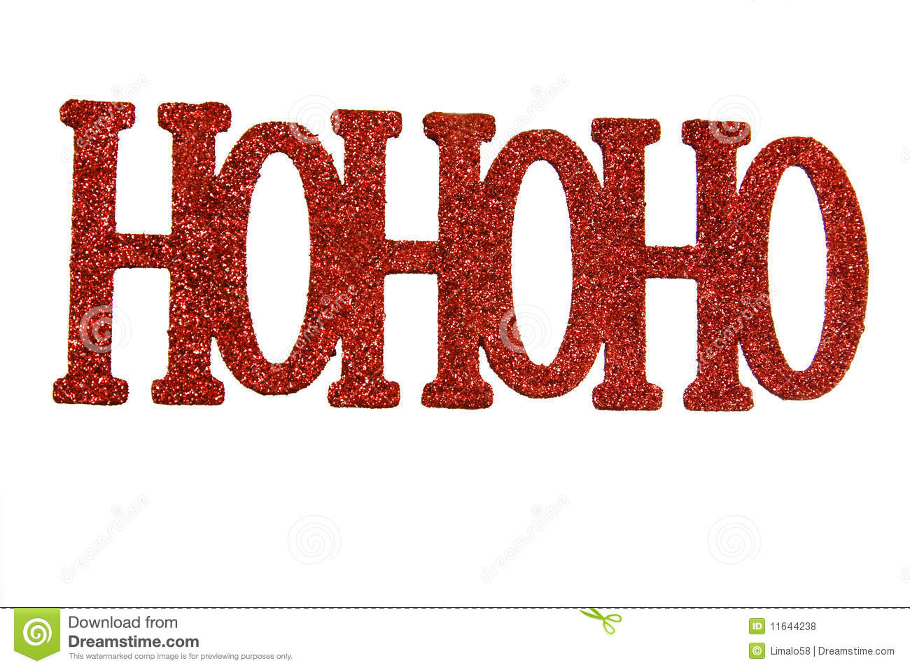 Ho Ho Ho Royalty Free Stock Photos Image 11644238