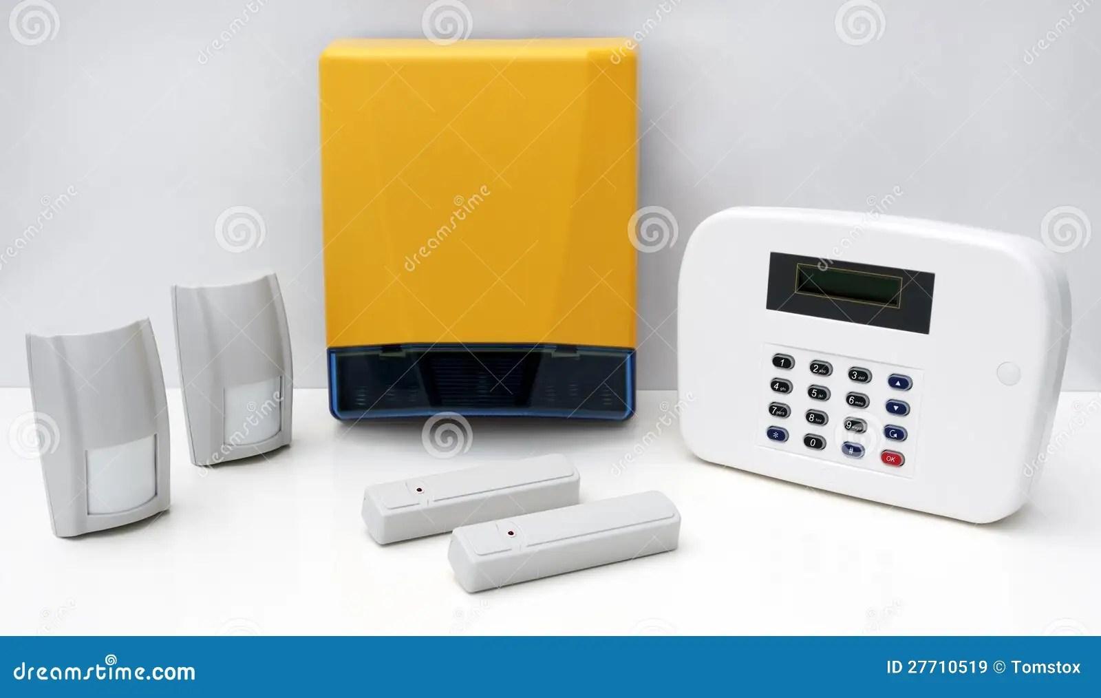 Domestic Burglar Alarm Systems